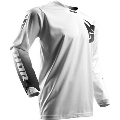 Maillot Cross Thor Pulse Whiteout 2017 Blanc