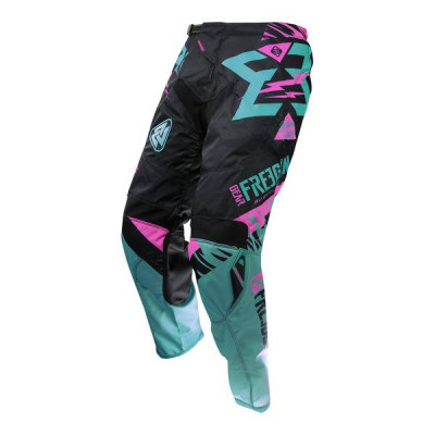 Pantalon Cross Freegun Contact Trooper Mint Néon Rose 2017