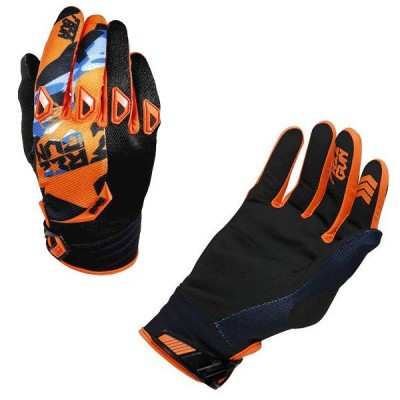 Gants Cross Freegun Devo Honor Orange Bleu 2017