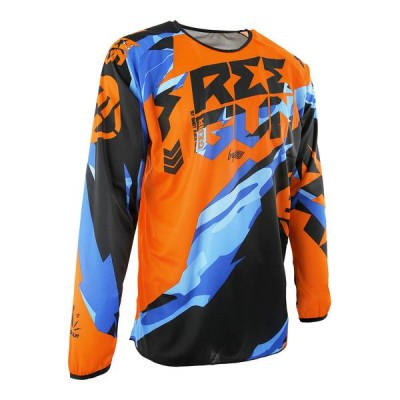 Maillot Cross Freegun Devo Honor Orange Bleu 2017