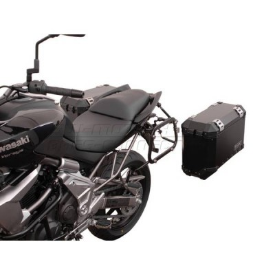 Support pour valise QUICK-LOCK EVO SW-Motech Kawasaki 650 Versys 07/14