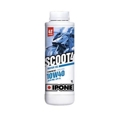 Huile pour scooter Ipone Scoot 4 10W40 1L