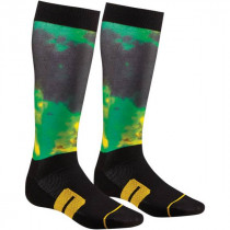 Chaussettes Cross Thor Moto Sub Lime