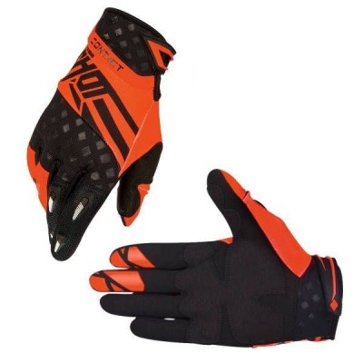Gants cross Shot Contact Raceway Neon Orange 2016