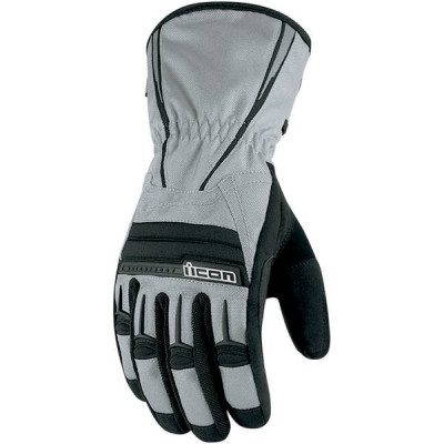 Gants Icon PDX Waterproof Gris 2XL