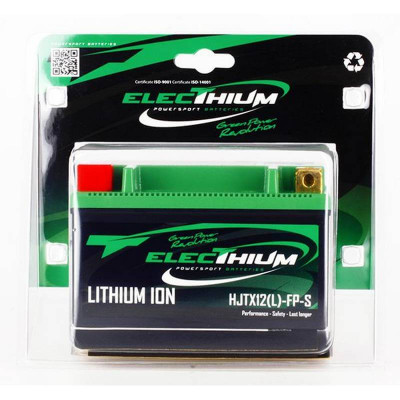 Batterie Lithium-ion YTX12-BS / YT12A-BS Electhium Moto