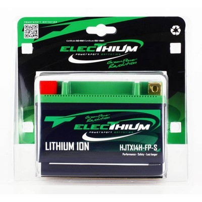 Batterie Lithium-ion YTX14-BS / YTX14H-BS Electhium Moto