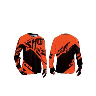 Maillot Cross Shot Contact Raceway Neon Orange 2016