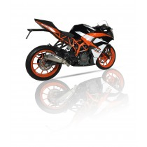 Silencieux Ixil RC1 KTM 125/390 Duke, RC 2017
