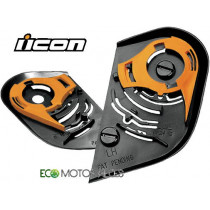 KIT PIVOT D'ECRAN ICON PROSHIELD POUR CASQUE INTEGRAL AIRFRAME - ALLIANCE