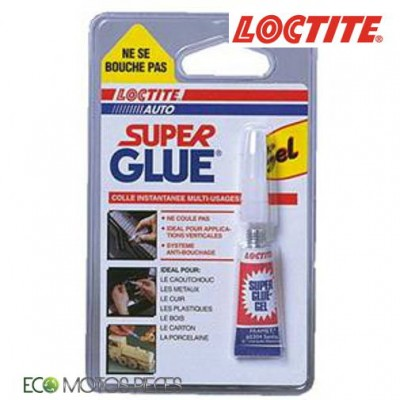 COLLE CYANOACRYLATE GEL LOCTITE 454