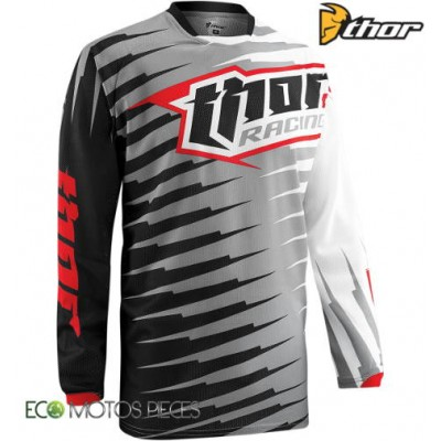 Maillot Cross Enfant Thor Phase Vented Rift Gris 2015