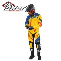 Maillot Cross Shot Flexor System Yellow Blue Red 2016