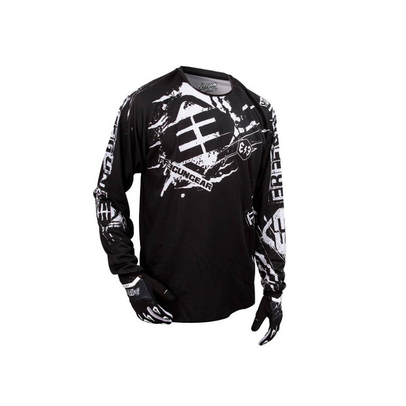 Maillot Cross Freegun Contact Freak Noir 2016