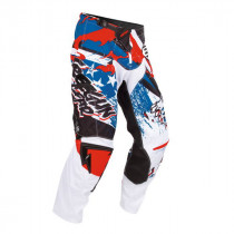 Pantalon Cross Freegun Contact US Rouge Bleu 2016