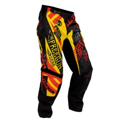 Pantalon Cross Freegun Devo Bandana Jaune Rouge 2016