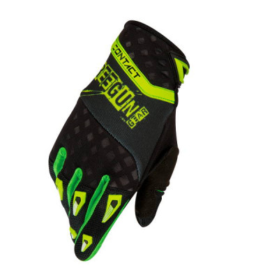 Gants cross Freegun Contact Freak Vert 2016