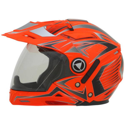 Casque moto Intégral AFX FX55 Multicolor Safety Orange